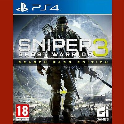 SNIPER GHOST WARRIOR 3 Season Pass Edition PlayStation 4 PS4 ~ Resealed