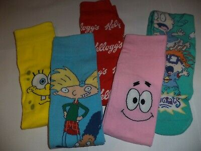 Food Drink Novelty Mens Socks Size 9 - 12 Pringles Kelloggs Coca Cola Xmas Gift