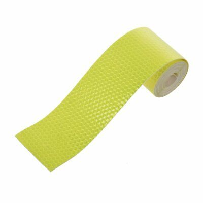 3 Meters Safety Caution Reflective Night Work Warning Sticker Self Adhesive F6T7