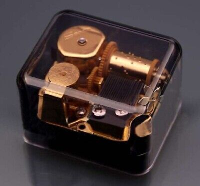 Sankyo Transparent Black  Music Box :  Harry Potter Hedwigs Theme