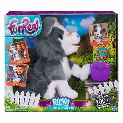 FurReal Friends Ricky, the Trick-Lovin' Interactive Plush Pet Toy BRAND NEW
