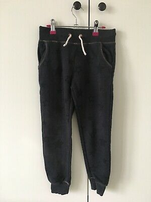 Marks and Spencer Girls Grey Star Joggers Age 6-7
