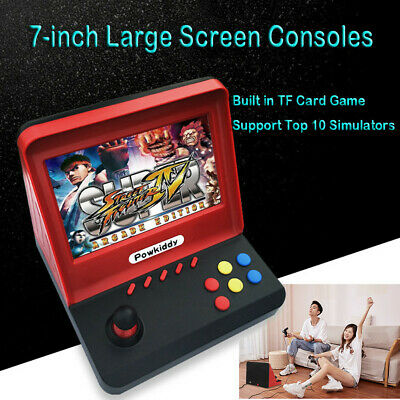 Mini 7 inch Arcade Game Retro Machines Kids with 3000 Classic Video Games Gifts