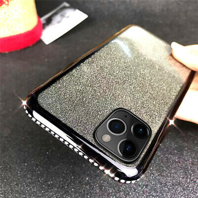 Diamond Shockproof Slim Soft Case Cover For iPhone 11 Pro Max XS XR X 8 7 Plus 6