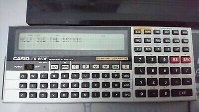 Casio FX-850P - Calculadora Científica LCD - Scientific Calculator Vintage