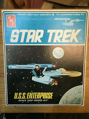 1968 Original AMT Model Kit S951 STAR TREK USS Enterprise - Unassembled Unbuilt