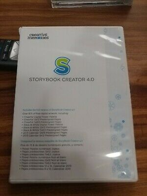 Creative Memories Story Book Creator 4.0 full version used condition