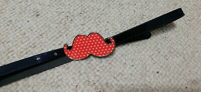 Girls NEXT Moustache Buckle Belt Age 5-7