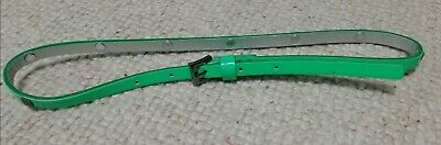 Girls NEXT Green Studded Belt Age 5-7