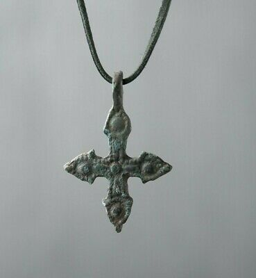 Ancient Cross ca.12 Century AD, Antique Cross, Medieval Pendant, Religious Gift