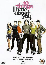 DVD   /10 Things I Hate About You (DVD, 1999) HEATH LEDGER JULIA STYLES
