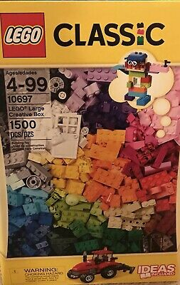 Lego 10697 Classic Large Creative Box 1500 Mixed Colors Sizes Bricks New