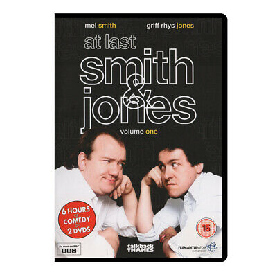 At Last, Smith And Jones (1984 - 1989) DVD, BBC Comedy (New, Factory Sealed)