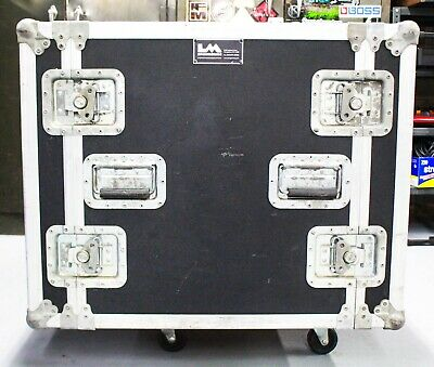 Imengineering ATA Road Case 10-Space Amp Rack Dual Side Case