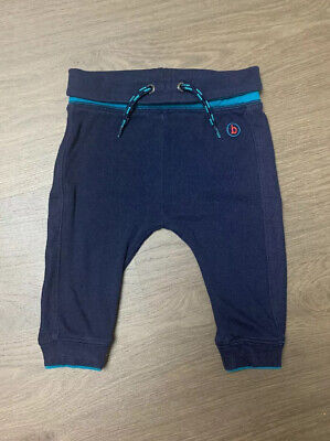 Ted Baker Boys Navy Trousers Joggers Size 6-9 Months