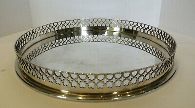 Vintage Signed, Portugal, Tiffany & Co. Sterling Silver Gallery Tray.