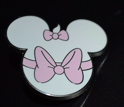 Disney Marie from Aristocats Mickey Mouse Head Character Mystery Pin