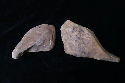 2 X OLD ABORIGINAL AXES WITH HANDLES Two Mile Flat & Tambaroora NSW 21cm & 16cm
