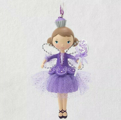 Sugar Plum Fairy Nutcracker Sweet #1  2019 Hallmark Keepsake Ornament Club