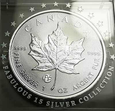 RARE 2018 Canada F15 Privy Silver Maple Leaf 1 oz. 0.9999 Silver Coin RCM