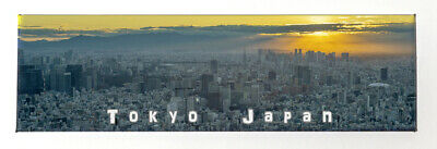 Tokyo Japan, a great Sunetview from the Skytree. Fridge Magnet Souvenir