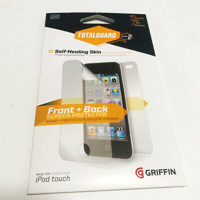 Griffin iPod Touch 4/5 Screen Protector Front and Back Level 2 NEW