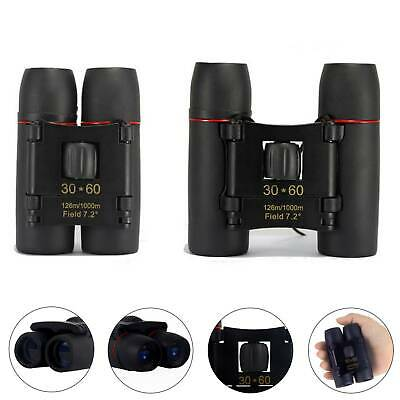 30 x 60 Zoom Mini Foldable Compact for Binoculars Telescopes Day Clear Image