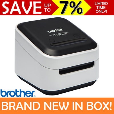NEW Brother Colour Label Printer Full Colour Wi-Fi Mac PC Mobile iPhone VC-500W