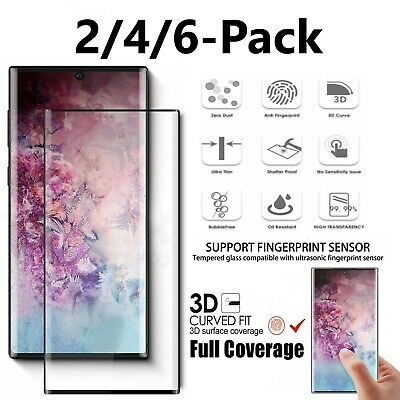 Samsung Galaxy S10 Plus/Note 10+/S10e Full Cover Tempered Glass Screen Protector