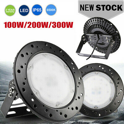 UFO LED High Bay Light 100W 200W 300W Warehouse Workshop Factory Studio Lights