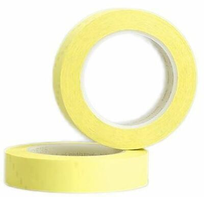 3M Tape 74 Yellow Electrical Tape 12mm x 66m T7412 PET 0.5mm Thermosetting Rubbe