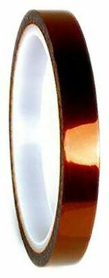 3M Scotch 1205 Amber Electrical Tape 9mm x 33m T12059 Polyimide Film 0.076mm Acr
