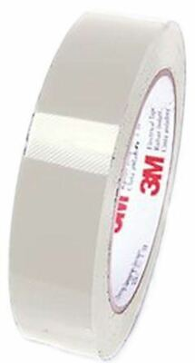 3M Tape 5 Clear Electrical Tape 38mm x 66m T538 Clear PET 0.06mm +130°C Acrylic