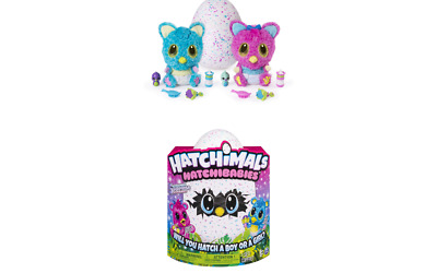 Hatchimals HatchiBabies Cheetree Hatching Egg with Interactive Pet Baby (Styl...