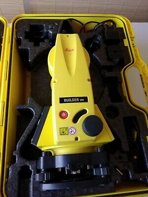 Leica builder 109 Theodolite with  Battery - Excellent Condition