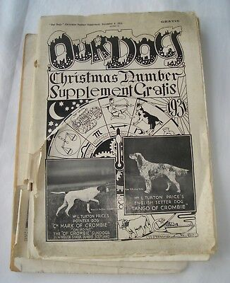 Our Dogs Christmas 1931 incl. Supplement