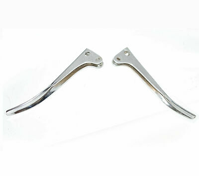 Steel Chrome Plated Brake & Clutch Lever For Royal Bullet Old Model Motorcycle
