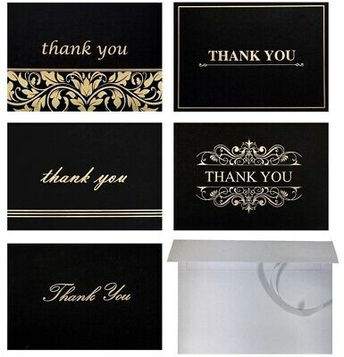Top 100 Thank You Cards for Baby & Bridal Sower, Business, Funeral, 4x6 Folded