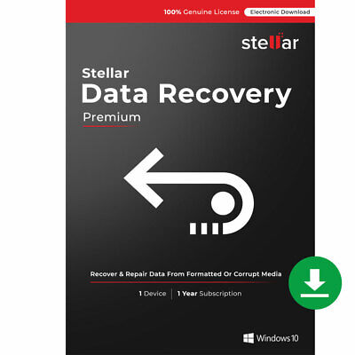 Stellar Windows Data Recovery Premium Recover Deleted File Download Key