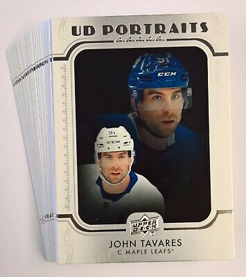 2019-20 Upper Deck Hockey Series 1 UD PORTRAITS Insert Cards (Pick Your Own)