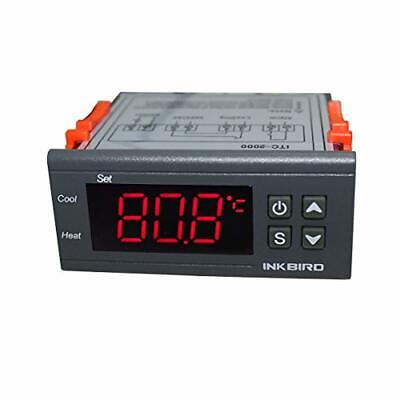 Inkbird 220V 1 Relay 1 Alarm Output Digital Temperature Controller Degree C and