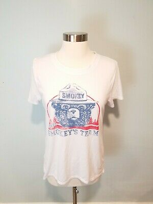 OFFICIAL LICENSEE Smokey The Bear Women/'s Tank Top Shirt Size XS NWT