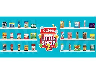 Coles Little Shop 2 Mini Collectables **$3.50 EACH**FAST & FREE POST**