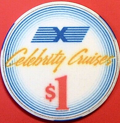 $1 Casino Chip. Celebrity Cruise Line. N87.