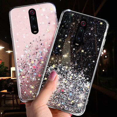 Bling Star Shockproof Soft Silicone Slim Case Cover For Xiaomi Redmi Phone Cases