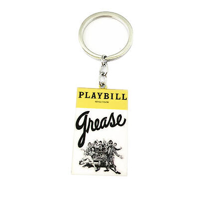 Broadway Musical Kinky Boots Playbill Charm Pendant Key Ring