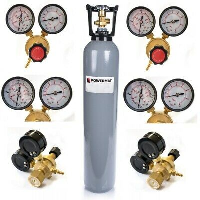 CO2 Carbon Dioxide Gas Cylinder Full Bottle 8L 150~180 Bar MIG TIG Gas Regulator