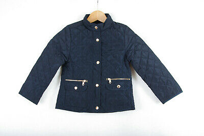 P290/72 Zara For Girls Navy Blue Quilted Jacket ,age 5-6,116 cm