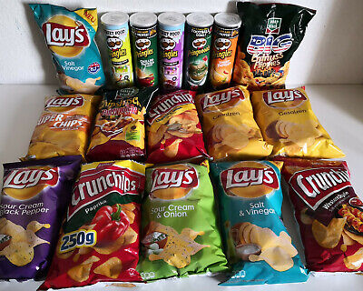 CHIPS Pringles , Crunchips , Lay`s , Funny Frisch  - MHD