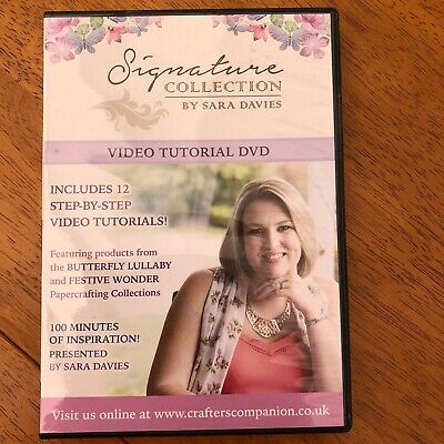 Signature Collection By Sara Davies Tutorial Dvd